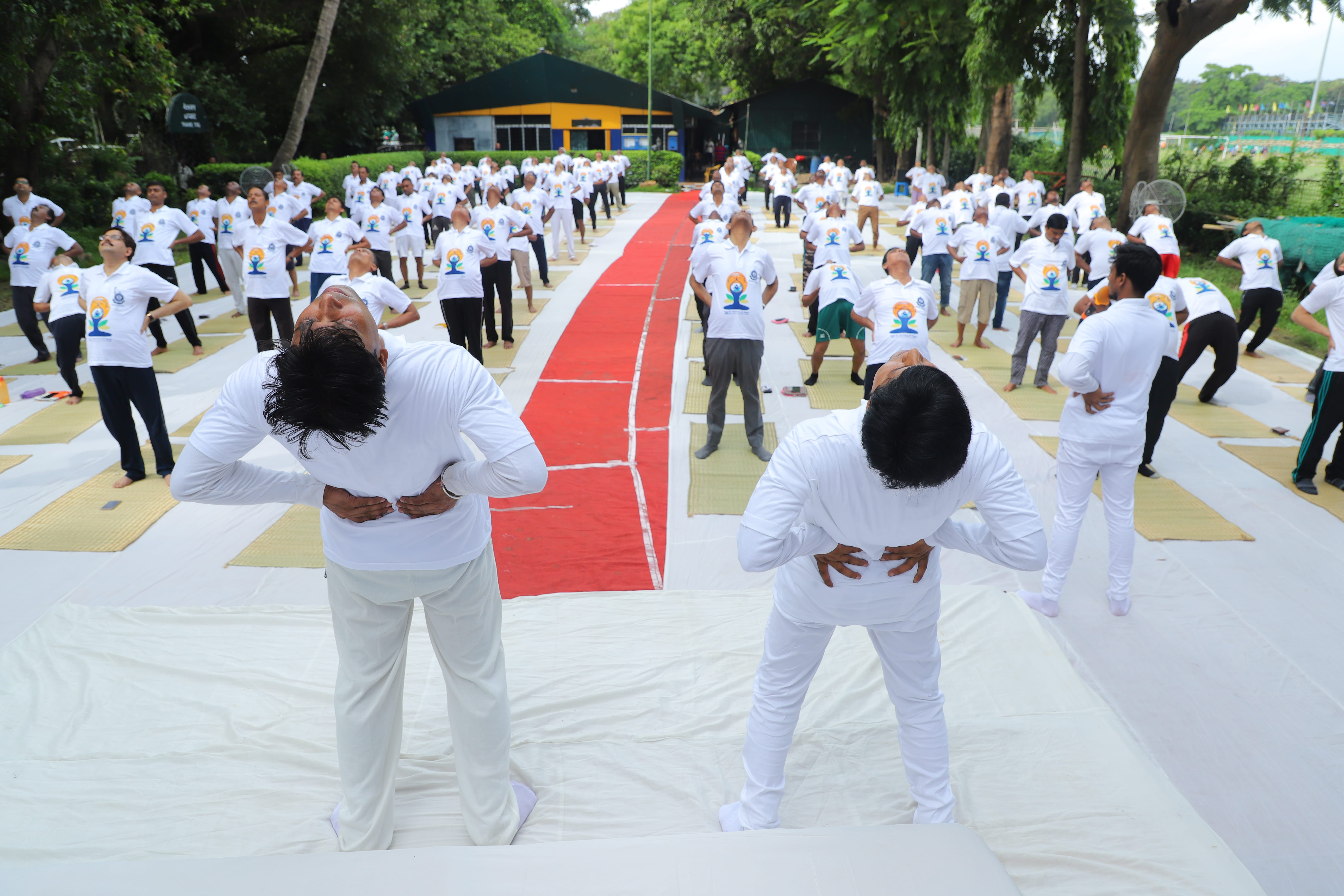 Fifth International day of yoga on 21th june, 2019