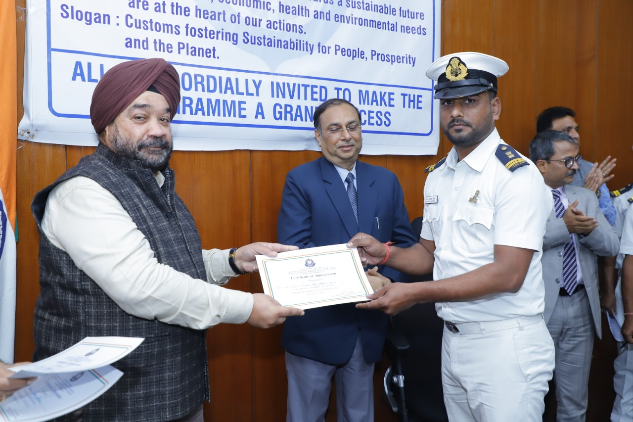 Kolkata Customs Celebrates International Customs Day 2020