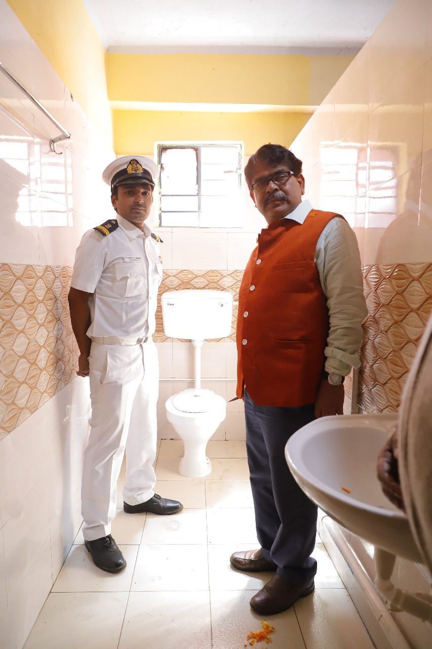 Renovation & Reconstructed by Kolkata Customs Under Swachhata Action Plan (Swachh Bharat Mission ) A FLAGSHIP project of the Government of India 31st january-2020