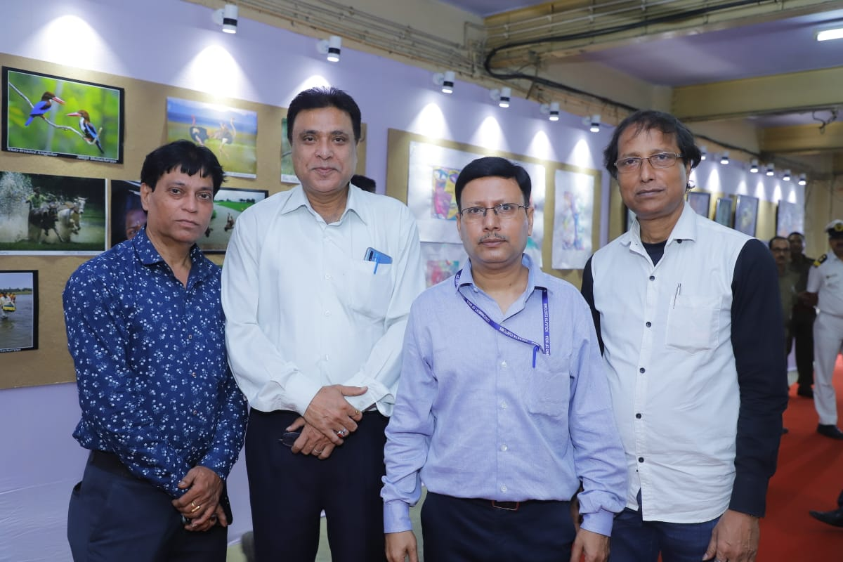 Central Revenue Sports & Cultural Board (East Zone) held a cultural programme of literary and poetry along with exhibition of paintings and photography at custom house , kolkata.